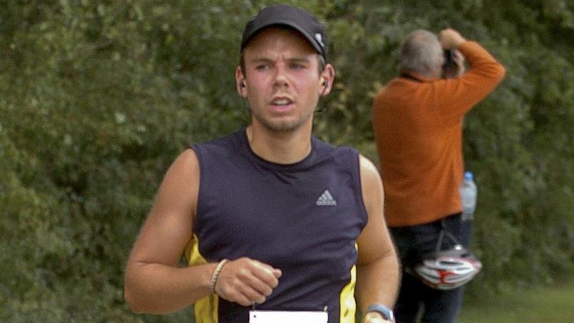 Andreas Lubitz lors d'un marathon en 2009.