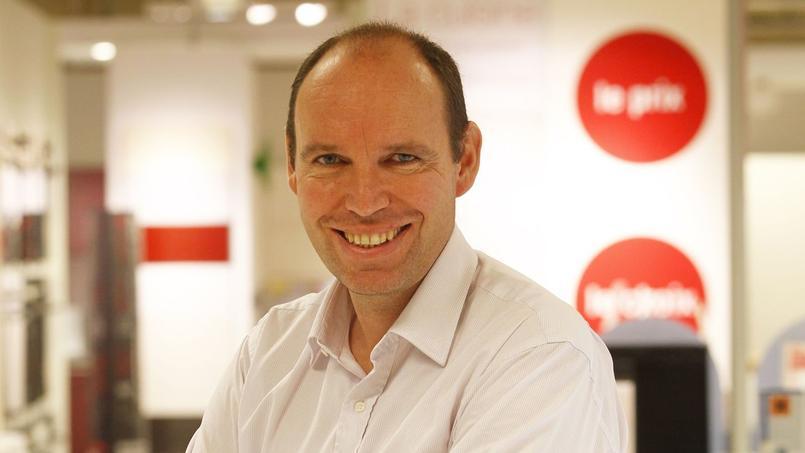 Régis Schultz, directeur général de Darty