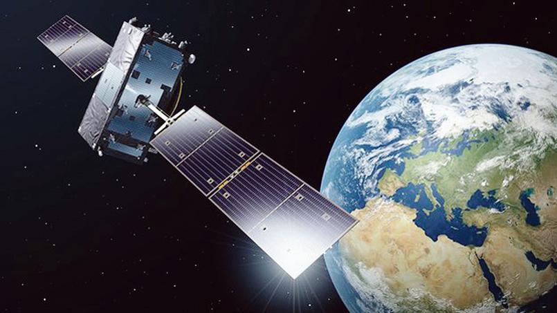 Vue d'artiste d'un des deux satellites Galileo lancé par Soyouz dans la nuit de vendredi à samedi.