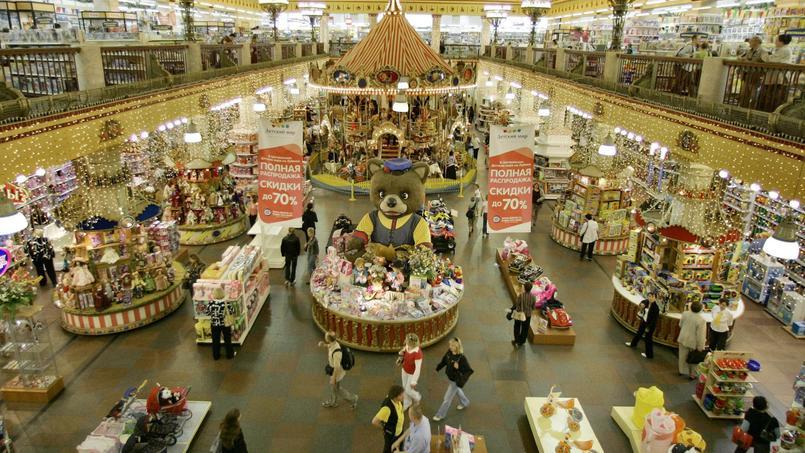 Moscou un magasin de jouets irrite la fibre patriotique russe - Grand magasin de jouet a londres ...