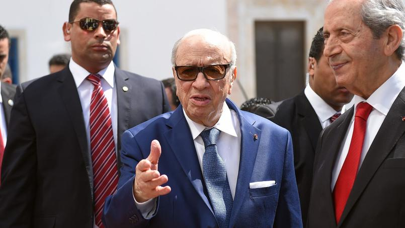 Béji Caïd Essebsi, le 29 mars dernier.