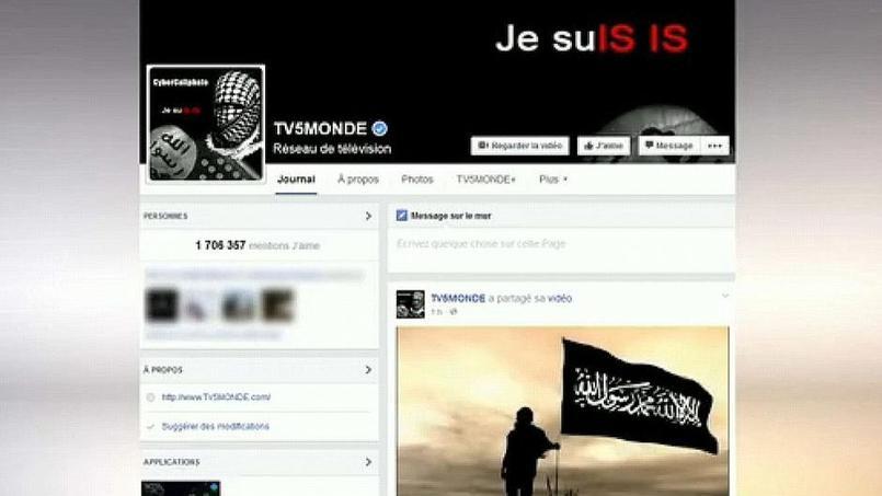 La cyber-attaque a visé les programmes de TV5 Monde mais aussi ses comptes sur les réseaux sociaux.