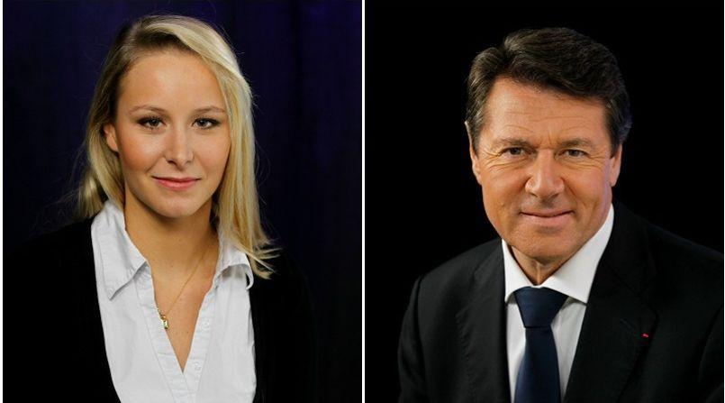 Marion Maréchal-Le Pen, tête de liste FN en Paca, y affrontera notamment Christian Estrosi (UMP).