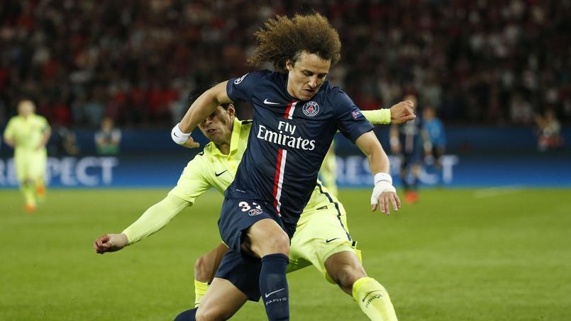David Luiz a joué quasiment soixante-dix minutes face à Barcelone avec le Paris SG.