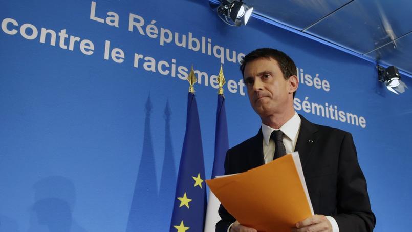 Manuel Valls a présenté vendredi un plan de lutte contre le racisme et l'antisémitisme dans un contexte de recrudescence des actes antimusulmans et antisémites.