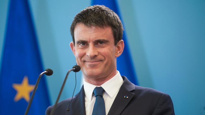 Manuel Valls en Pologne, le 12 mars 2015