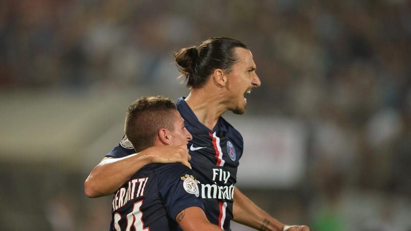 Zlatan Ibrahimovic et Marco Verrati, les deux joueurs les plus craints par le Barça.