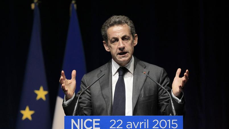 Nicolas Sarkozy à Nice ce mercredi
