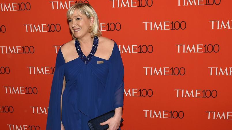 Marine Le Pen était présente mardi au gala annuel de Time Magazine.
