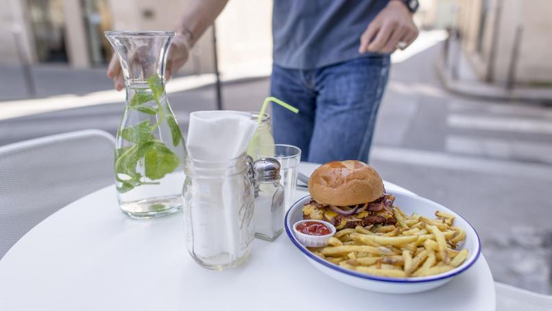 Le «crispy», burger au poulet fermier pané du tout nouveau PNY Marais (IIIe).