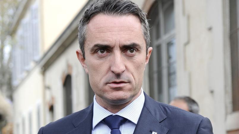 Stéphane Ravier, le 30 mars 2014 à Marseille.