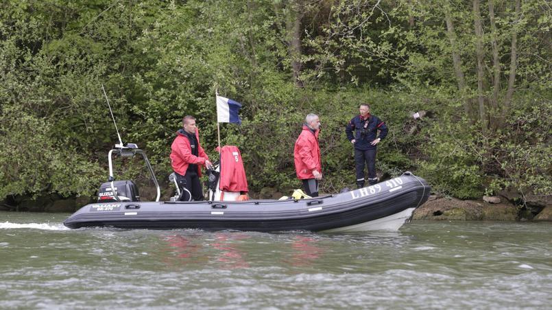 Des recherches sur la rivière Oise, le 24 avril dernier.