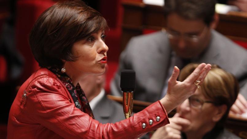 Carole Delga, secrétaire d'État chargée du Commerce, de l'Artisanat, de la Consommation et de l'Économie sociale et solidaire.