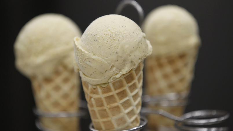 La glace à la vanille de chez Berthillon, notre gagnant, rue Saint-Louis-en-l'Ile (IVe).