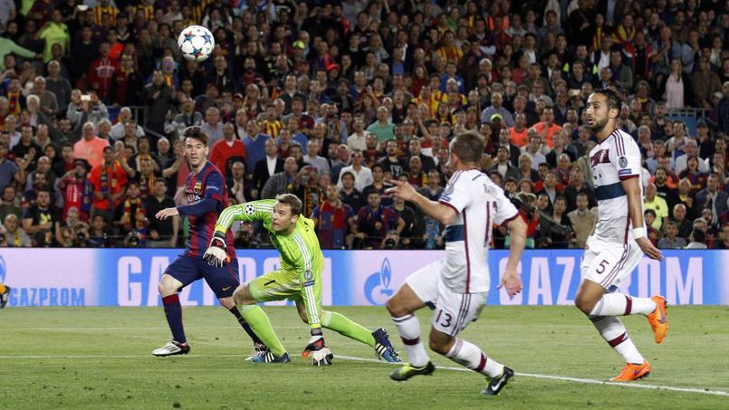 Comment le Barça a humilié le Bayern en une action