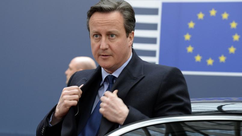 David Cameron, le Premier ministre britannique à Bruxelles.