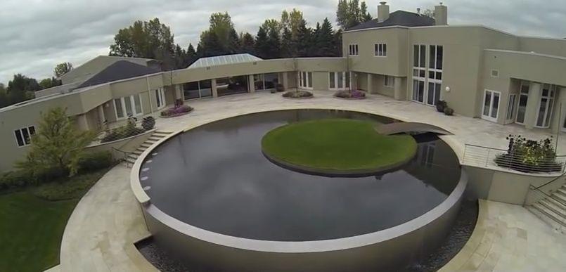 Faute d 39 acheteur michael jordan brade sa maison chicago - Michael youn maison piscine ...
