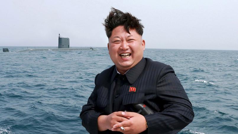 Le 9 mai dernier, Kim Jong-un a supervisé l'essai nord-coréen d'un missile balistique mer-sol.