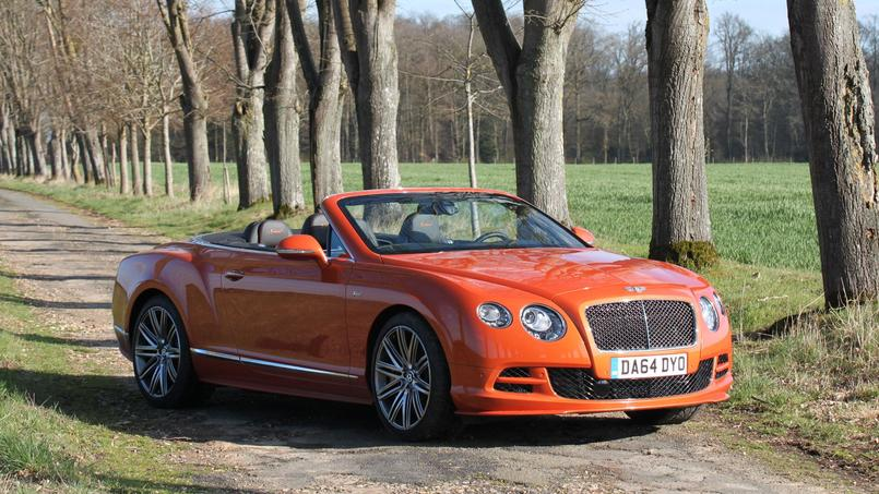 bentley continental gtc speed orange m canique. Black Bedroom Furniture Sets. Home Design Ideas