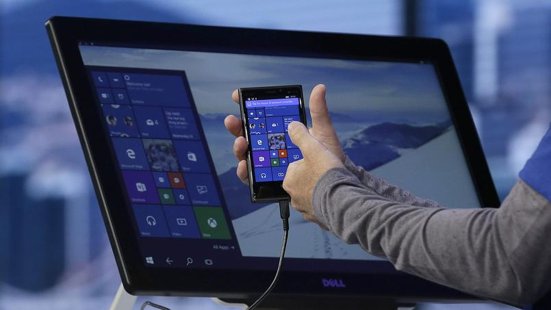 Windows 10 sera indentique sur tablettes, PC et smartphones.