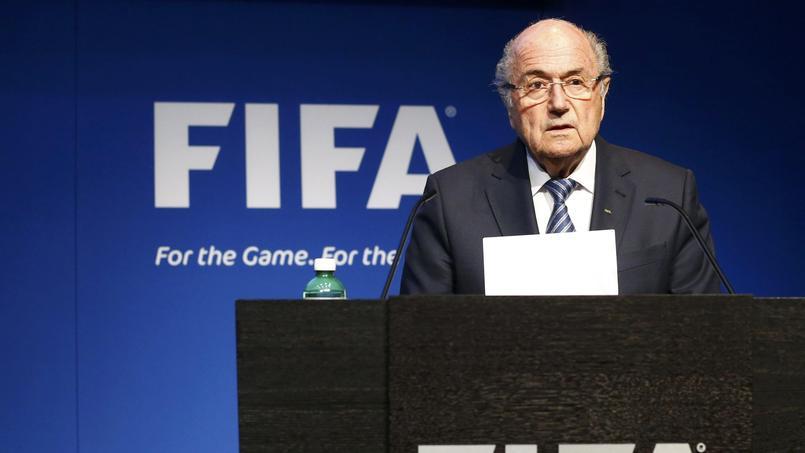 Sepp Blatter, le 2 juin.