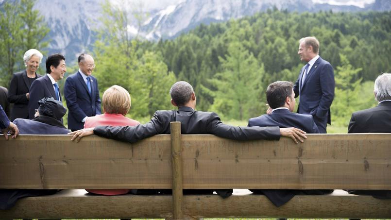VIDEO - Angela et Barack à l'aise en Bavière