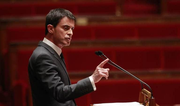 Manuel Valls annoncera ce mardi des mesures en faveur de l'emploi dans les PME et TPE. (Crédit: Sébastien Soriano/ Le Figaro)