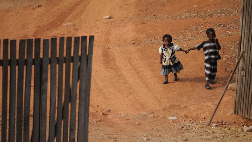 Des enfants Ghanéens.