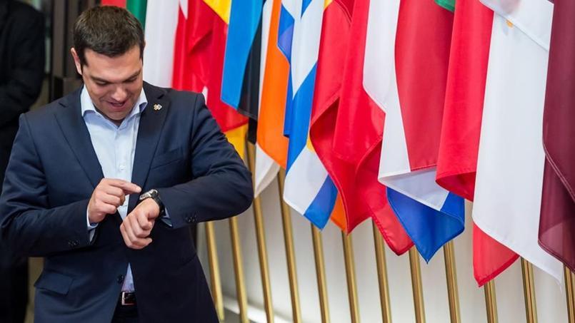 Le temps presse pour le premier ministre grec, Alexis Tsipras...