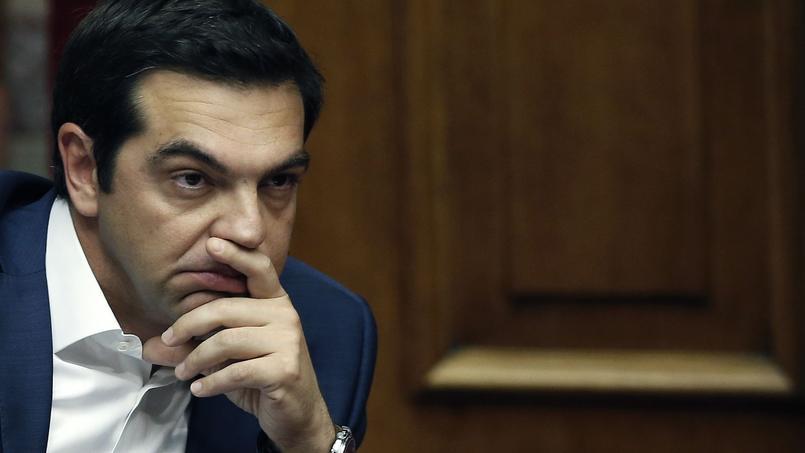 Alexis Tsipras devant le Parlement grec le 5 juin dernier