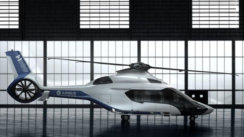 Successeur du Dauphin, le H160 se distingue par un design d'avant-garde et de nombreuses innovations. Il a fait l'objet de 68 dépôts de brevets. Crédit: Airbus Helicopters