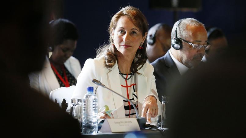La ministre de l'Ecologie, Ségolène Royal