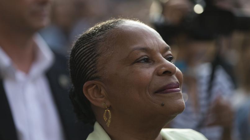 La ministre de la Justice, Christiane Taubira, le 21 juin 2015.
