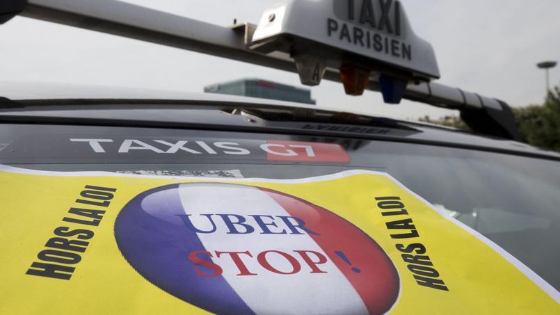 Les taxis se sont massivement mobilisés jeudi dernier pour dénoncer le service UberPop.