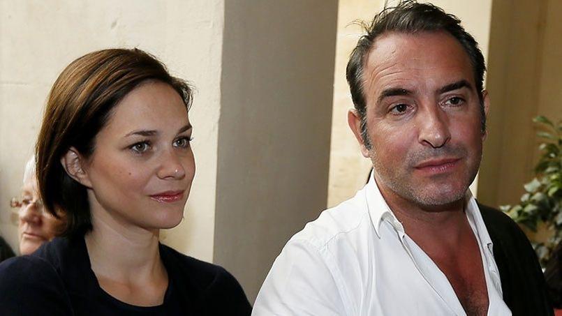 Jean dujardin et nathalie p chalat inaugurent un cin ma for Nathalie jean dujardin