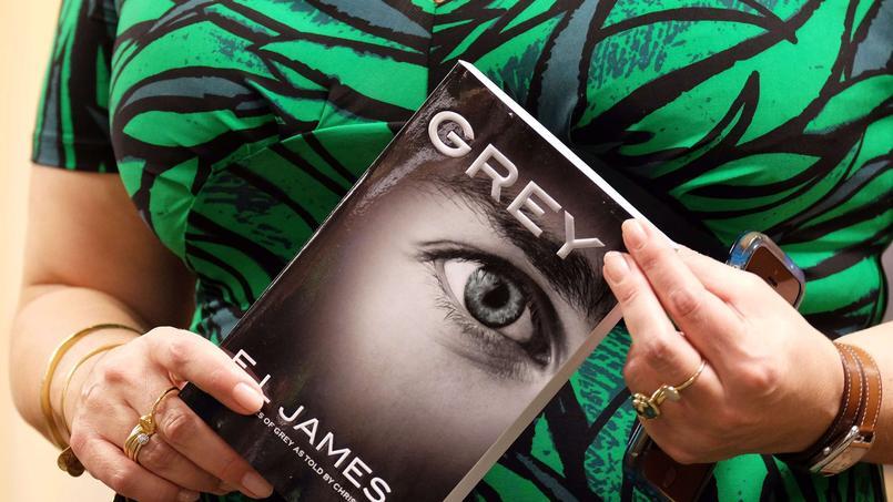 Les ventes en numérique de la trilogie phare de E.L. James, «50 nuances de Grey» représentent environ 10% de celles réalisées en édition papier.