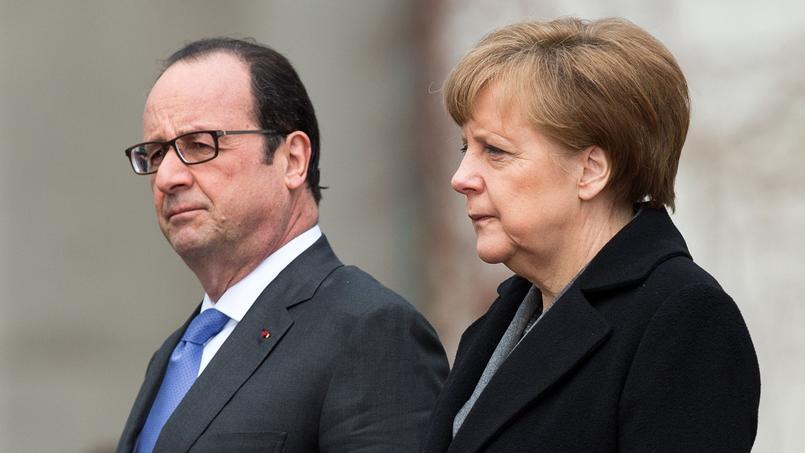 Les Français se montrent même largement plus confiants à l'égard d'Angela Merkel (44%) qu'à celui de François Hollande