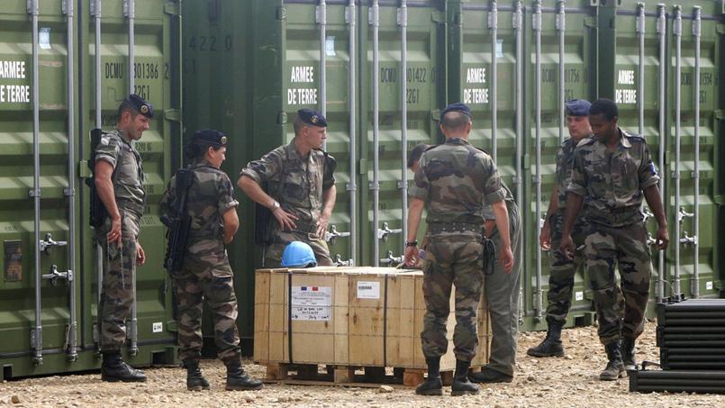 Des militaires sur le site de l'armée française à Miramas (illustration).