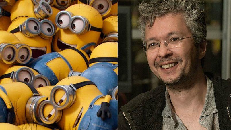 pierre coffin minion voice behind the scenes