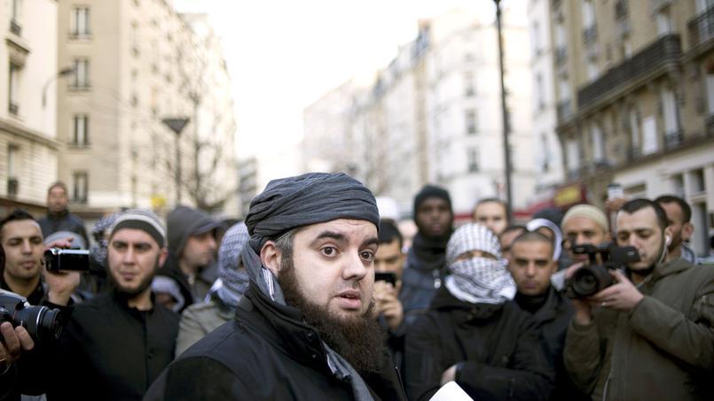 Mohammed Achamlane, dans les rues de Paris, en janvier 2012.
