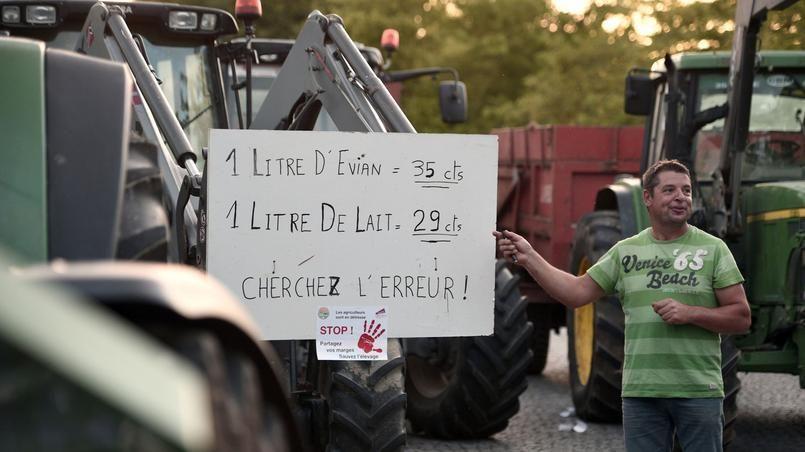 Manifestant à Rennes, juillet 2015