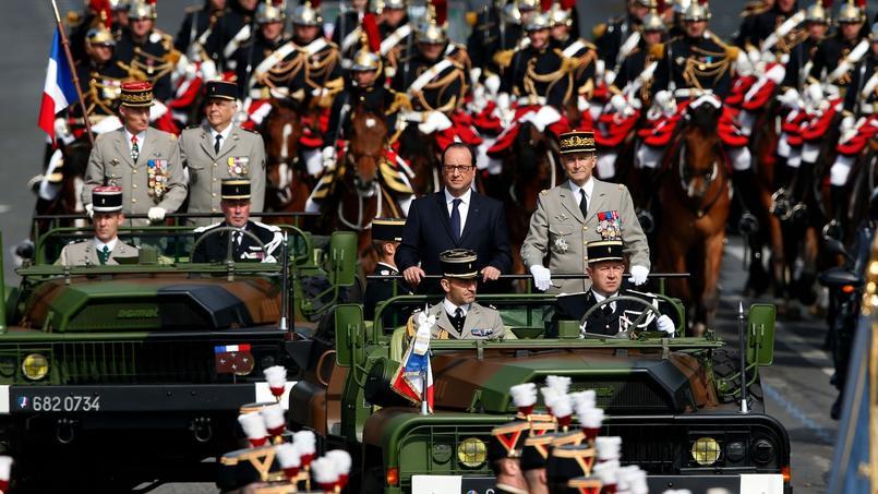 Cette année, le président François Hollande a décidé de mettre à l'honneur l'ordre de la Libération.