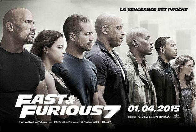 fast and furious 7 troisi me plus gros succ s de tous les temps. Black Bedroom Furniture Sets. Home Design Ideas