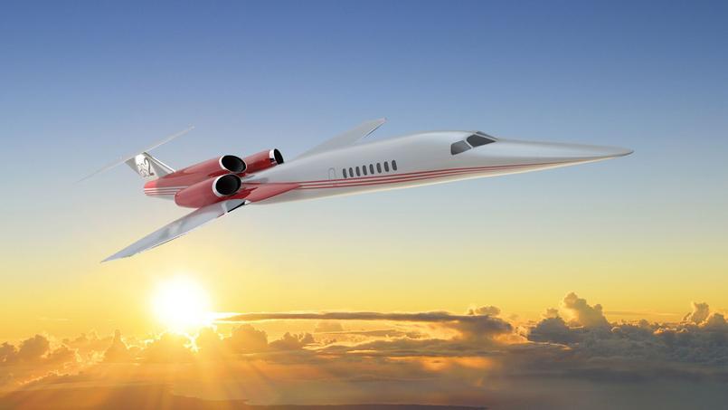 Super Un jet privé supersonique à 120 millions de dollars MD26