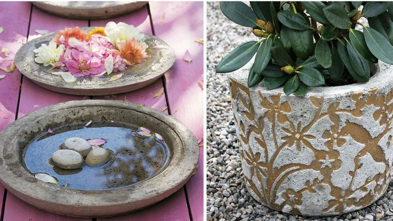 Jardin une d coration b ton for Jardinage decoration jardin