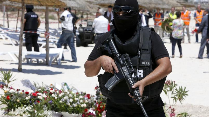 Les forces spéciales de sécurité tunisiennes.