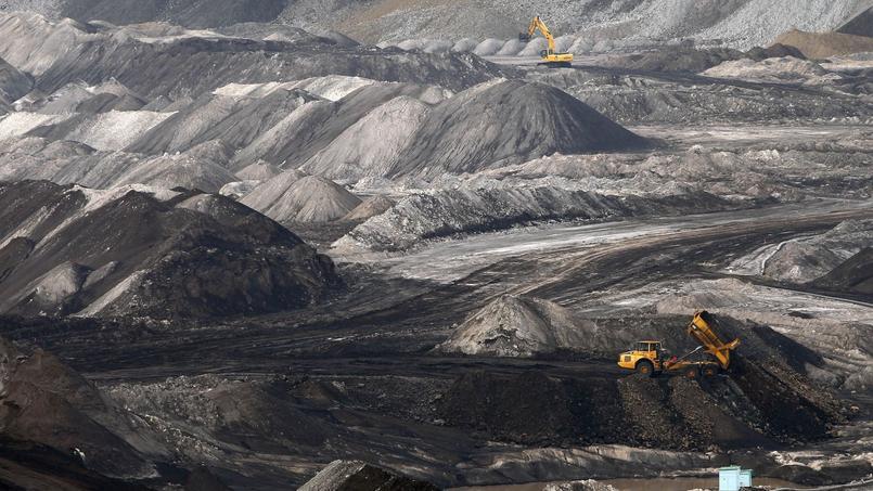 Une mine de charbon en Allemagne.