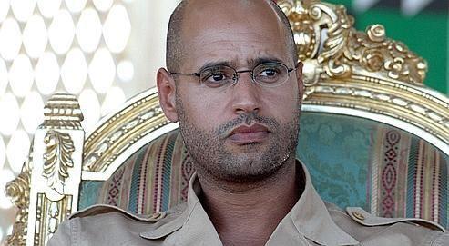 Saïf al-Islam Kadhafi, le deuxième fils du «Guide» libyen, a été condamné à mort par contumace aujourd'hui par le tribunal de Tripoli. (Crédits photo: AFP)