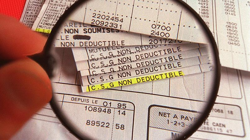 Image d'archives. La France devrait restituer la CSG et la CRDS qu'elle prélève sur certains revenus de non-résidents.