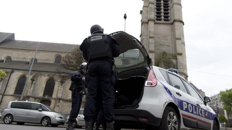 L'église de Villejuif où Sid Ahmed Ghlam planifiait de commettre un attentat.